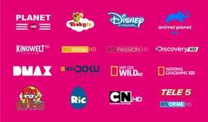 Magenta / UPC 17 zusätzliche Sender für einen Monat kostenlos Magenta TV Kunden (S und M Paket)