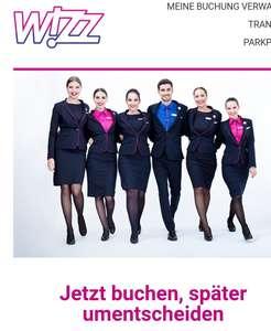 Wizz Air Flex für nur 1€ pro Richtung. Sehr viele sehr günstige Flüge dabei ab 9,99€.
