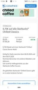 Starbucks - nur noch heute gültig!