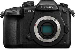 Panasonic GH5 (Micro 4/3 Systemkamera) - Body only (Kreditkarte wird benötigt!)