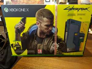 XBox One X Cyberpunk Limited Edition (Lokal)