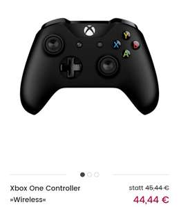[Universal] Xbox One Controller »Wireless« schwarz
