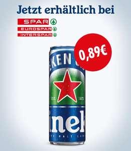 Spar, Interspar, Eurospar: Heineken 0.0 Sleek Can um €0,89
