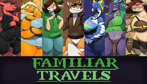 Familiar Travels - Volume One (Windows/Mac) Visual Novel für Erwachsene gratis auf itch.io Metacritic 8.8 User Rating