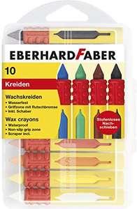 Eberhard 10er Wachsmalkreide Set mit Schiebehülse und Rutschbremse