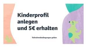 5€ Amazon Gutschein auf die Kategorien Baby, Spielzeug, Kinderbekleidung & Babybekleidung ab 20€ Mindestbestellwert