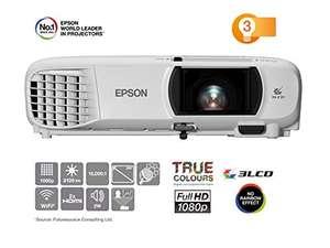 Epson EH-TW650 3LCD-Projektor Beamer (Full HD, 3100 Lumen, 15.000:1 Kontrast)