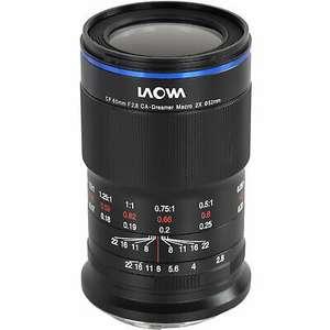 Laowa Venus Optics 65mm f/2.8 2x Ultra Macro APO Canon EF-M