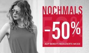 Fussl: -50% auf reduzierte Mode