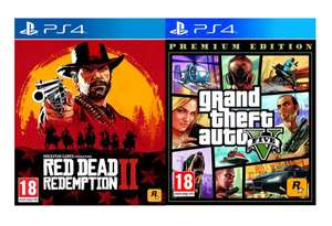 Red Dead Redemption 2 + GTA 5 (PS4)