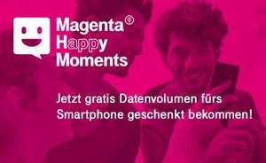 Magenta Happy Moments wieder verfügbar, bis zu 5GB für 14 Tage