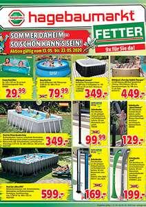 In Haus und Garten wirds gleich netter, war man zuvor bei Hagebau FETTER (Baumarkt -20%, gilt bei allen Hagebau)