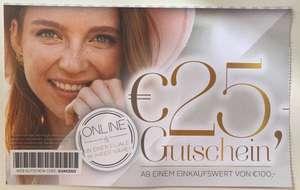25€ bei Feichtinger (mit Business Card)