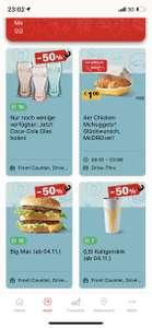 McDonalds Prämienpreise um 50% reduziert
