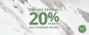 Peek & Cloppenburg: 20%Rabatt auf tausende Artikel inklusive Sale + gratis Versand