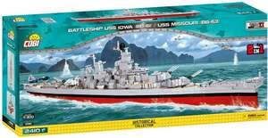 Cobi Historical Collection WW2 USS Iowa (BB-61)/Missouri (BB-63) (4812)