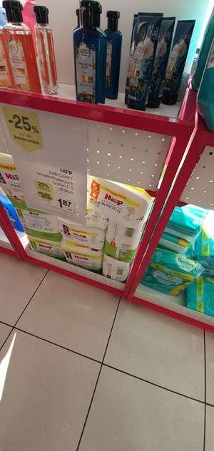 Bipa Aktion auf Babyprodukte - 25% - Hipp Probierpackung Windeln Größe 3 - 5