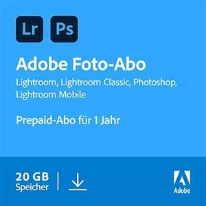 Adobe Foto-Abo 1Jahr