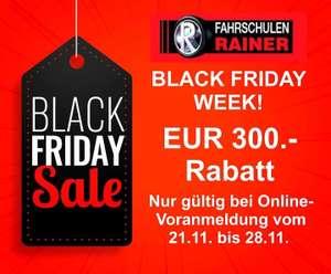 RAINER Fahrschule - 300€ Rabatt bei Neuanmeldung (Gültig bis 28.11.)