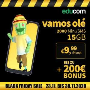 EDUCOM - Black Friday Week mit zB. Vamos olé als Jahrestarif für € 6,24/Monat für Neukunden