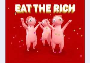 """""""Eat The Rich -The Black Friday Simulator-"""" gratis auf itch.io - Für diejenigen, die das Gedränge vermissen (Info)"""