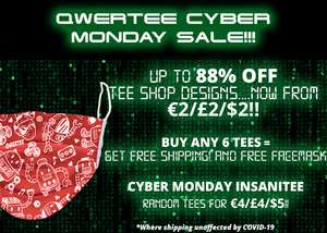 QWERTEE Cyber Monday Sale