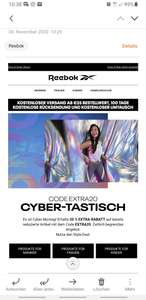 Cyber Monday -20% auf Sale
