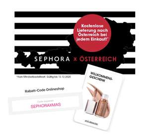 [ Sephora ] GRATIS Geschenk + GRATIS Versand & -20% Rabatt*