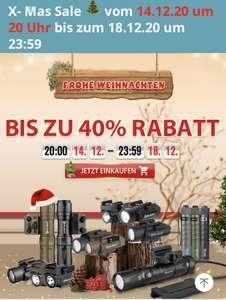 Weihnachts Sale bei Olight - Bis zu -40% Rabatt