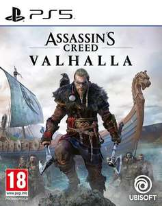 PS4/PS5 Games: Assassin's Creed: Valhalla 44,99€ / Watch Dogs: Legion: 34,99€