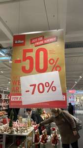 [ KIKA ] -70% Rabatt auf Weihnachtsartikel