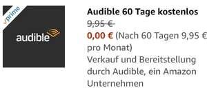 """2 kostenlose Monate """"Audible"""" für Prime-Mitglieder"""