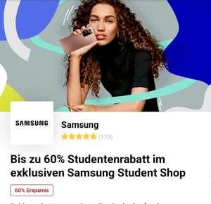 Bis zu 60% Studententabatt im exklusiven Samsung Student Shop | -15% auf die neuen Galaxy S21 Geräte