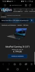 Lenovo gaming 3i e-sport gaming Laptop mit i7 10750h gtx1650ti