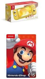 Nintendo Switch Lite inkl. 15€ Guthaben und Zelda Link's Awakening