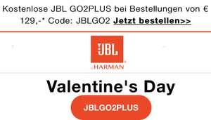 JBL GO2PLUS gratis bei Bestellungen über 129€