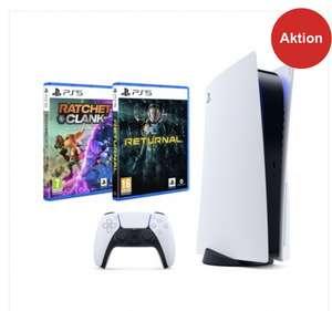 Sony PlayStation 5 mit Laufwerk Bundle inkl. Ratchet & Clank und Returnal PS5