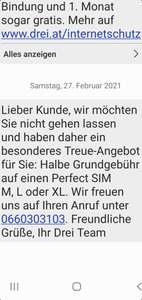 Infodeal Keine Garantie Drei.at Simtarif -50%