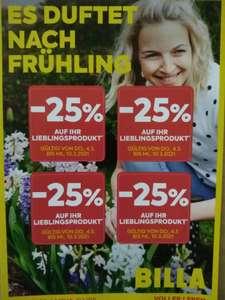 Billa - 25% Rabatt Pickerl