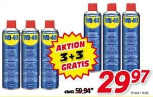 6x WD-40 Universal-Multifunktionsspray 600 ml