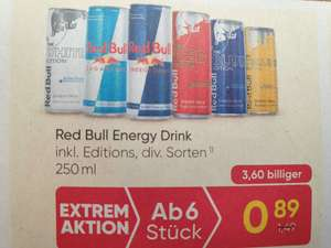 Red Bull 250ml um 0.89€ beim Merkur ab 6 Stück
