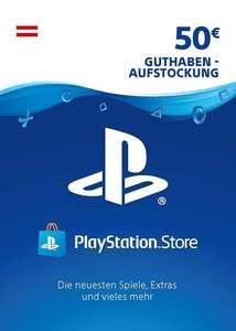 PlayStation Network 50€ Guthaben für Österreich