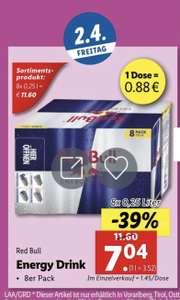 Red Bull 8er Pack LIDL