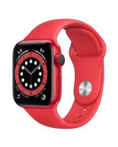 Apple Watch Series 6 (GPS + Cellular) 40mm Aluminium rot