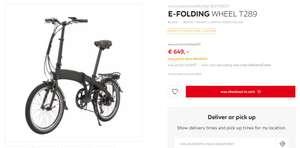 E-FOLDING Fahrrad T289