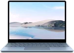 [Amazon] Microsoft Surface Laptop Go Eisblau, Core i5-1035G1, 8GB RAM, 128GB SSD (THH-00027), Bestpreis!