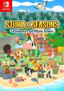 Story of Seasons: Pioneers of Olive Town (Key) (Harvest Moon)