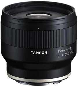 Tamron 35mm f2,8 Di III OSD 1:2 Macro Sony E-Mount für 209€
