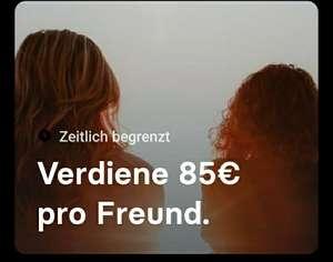 Revolut; kostenlose Kreditkarte, 85€ für jede Einladung.