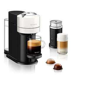 """De'Longhi Nespresso """"Vertuo Next ENV 120.GYAE"""" Kaffeekapselmaschine + Aeroccino Milchaufschäumer"""